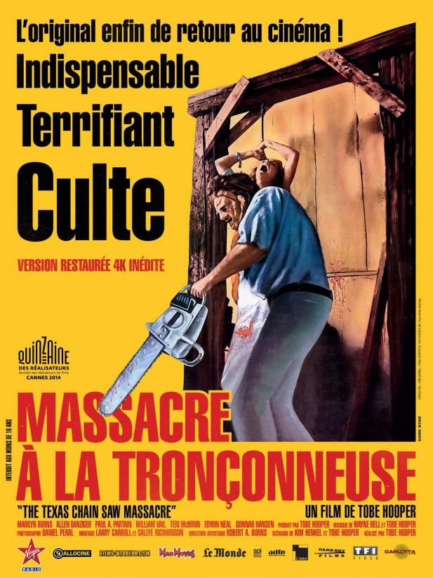 Massacre à la tronçonneuse (BANDE ANNONCE 1974) de Tobe Hooper (The Texas Chainsaw Massacre)