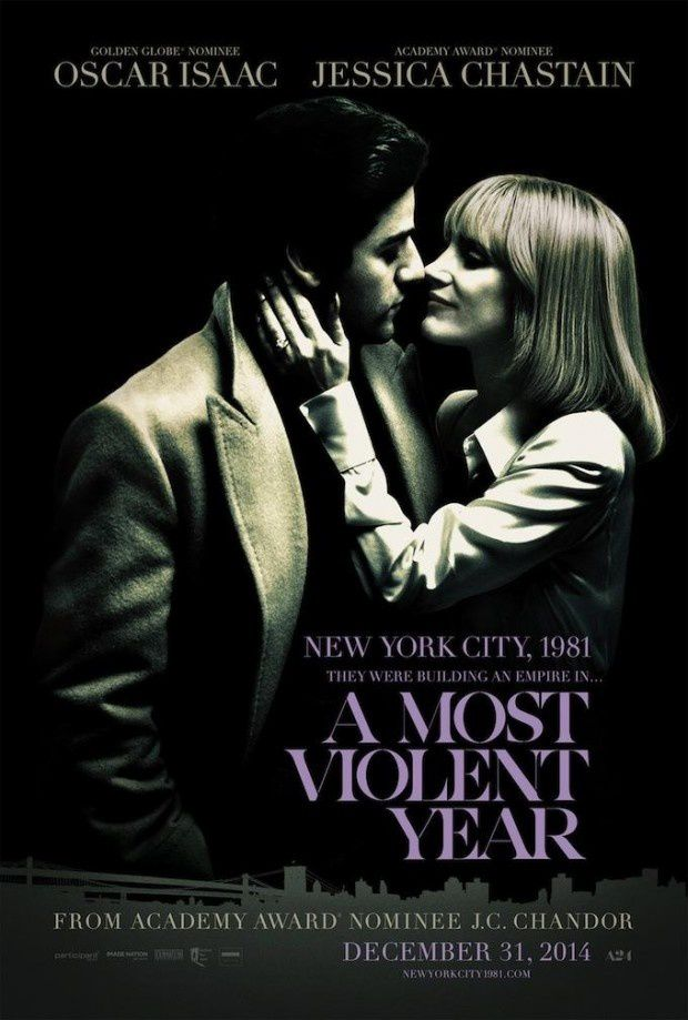 A MOST VIOLENT YEAR (BANDE ANNONCE VOST 2014) avec Oscar Isaac, Jessica Chastain, Ashley Williams