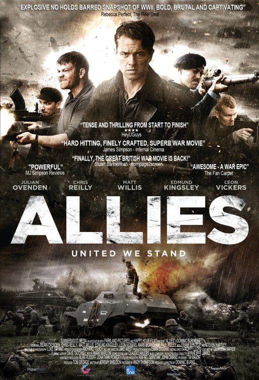 ALLIES (BANDE ANNONCE VOST 2014) avec Julian Ovenden, Chris Reilly, Matt Willis