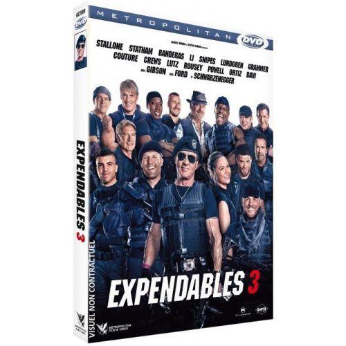 EXPENDABLES 3 - LE 20 DECEMBRE 2014 EN BLU-RAY, DVD ET COFFRETS TRILOGIE !