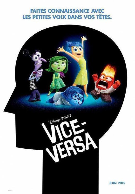 Vice Versa - Faites connaissance avec les personnages - Le prochain film du Studio Pixar, le 17 juin 2015 au cinéma !