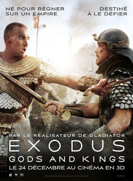 Exodus : Gods and Kings (4 EXTRAITS) avec Christian Bale, Joel Edgerton, Aaron Paul, Ben Kingsley et Sigourney Weaver. 24 12 2014