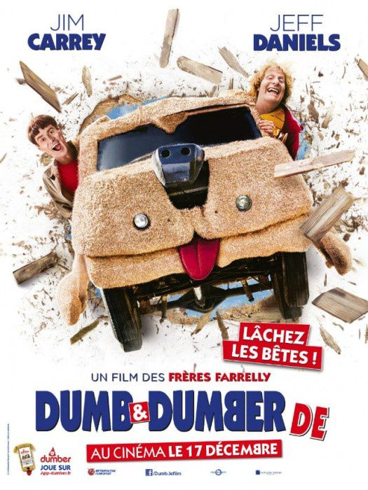 Dumb & Dumber De (Making-of VOST) avec Jim Carrey, Jeff Daniels, Jennifer Lawrence - 17 12 2014