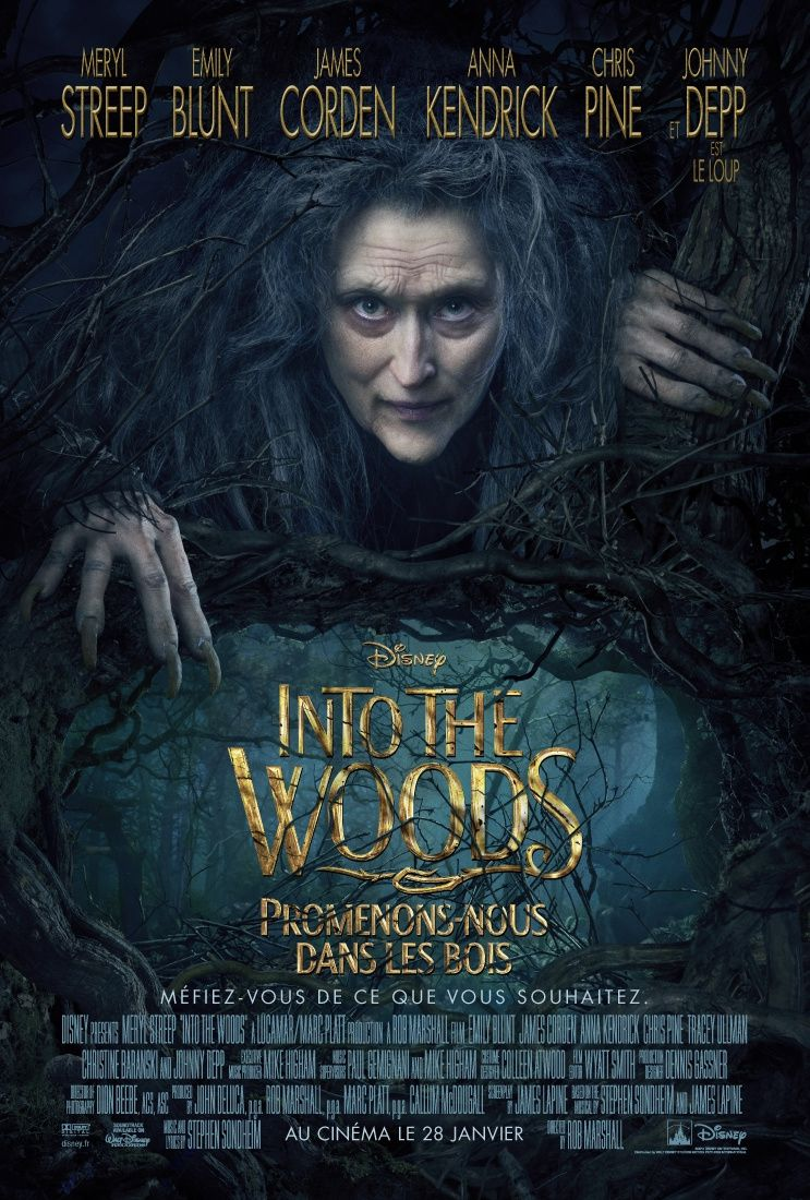 """Into The Woods (Reportage : """"Be careful what you wish for"""") 28 01 2015"""