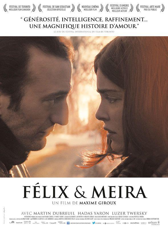 FELIX ET MEIRA (3 EXTRAITS) du film de Maxime Giroux, au cinéma le 4 février 2015