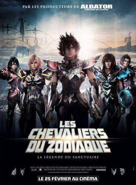 Les Chevaliers du Zodiaque - La Légende du Sanctuaire (BANDE ANNONCE VF et VOST) de Keichi Sato - 25 02 2015