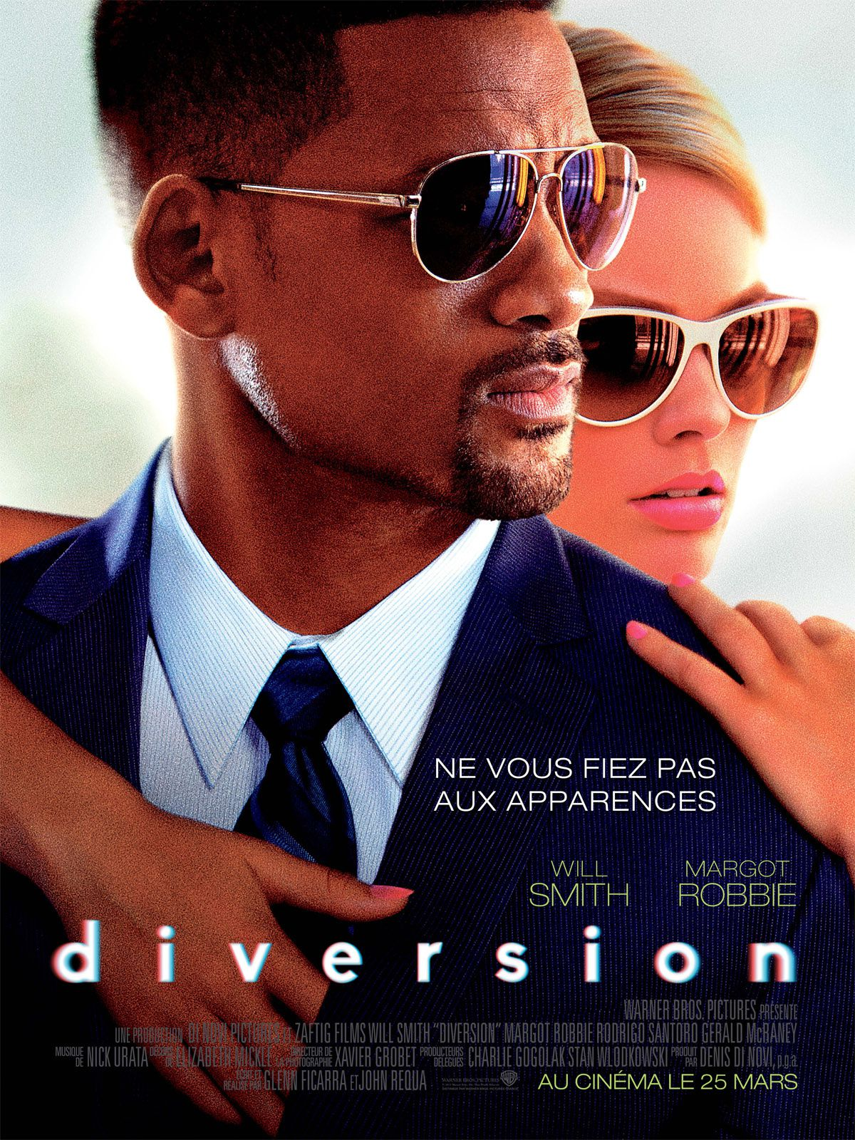 DIVERSION (Featurette VOST) avec Will Smith, Margot Robbie, Rodrigo Santoro - 25 03 2015 (Focus)