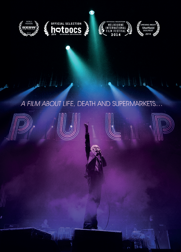 Pulp, a film about life, death & supermarkets (BANDE ANNONCE VO 2015) avec Jarvis Cocker, Nick Banks, Steve Mackey