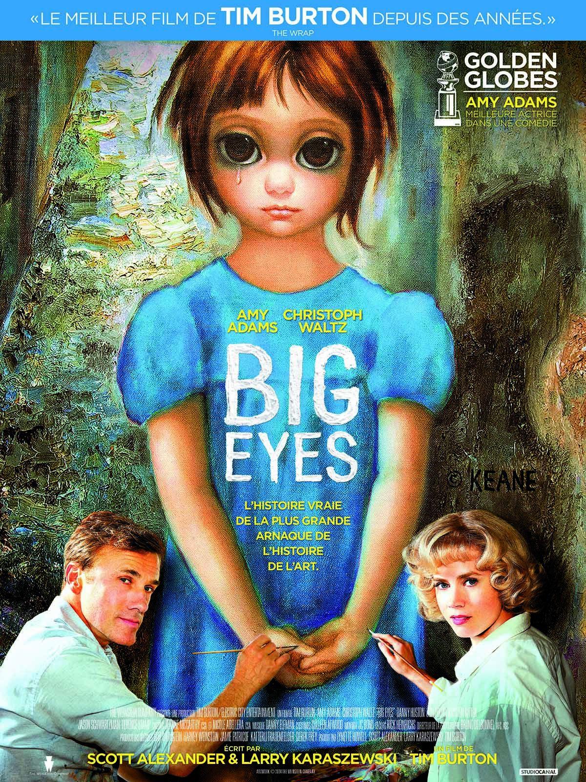 Big Eyes (Featurette : Margaret Keane) de Tim Burton avec Krysten Ritter, Amy Adams, Christoph Waltz - 18 03 2015