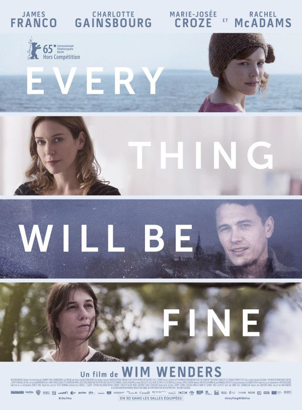 Every Thing Will Be Fine (BANDE ANNONCE VOST 2015) de Wim Wenders avec James Franco, Charlotte Gainsbourg, Marie-Josée Croze