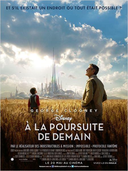 A la poursuite de demain (Featurette : La vision du futur de Walt Disney) avec George Clooney et Hugh Laurie, le 20 mai 2015 au cinéma.