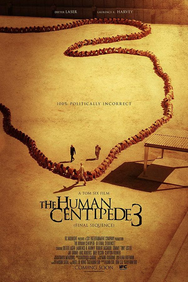 The  Human Centipede 3 (Final Sequence) (BANDE ANNONCE VO 2015) avec Eric Roberts, Bree Olson