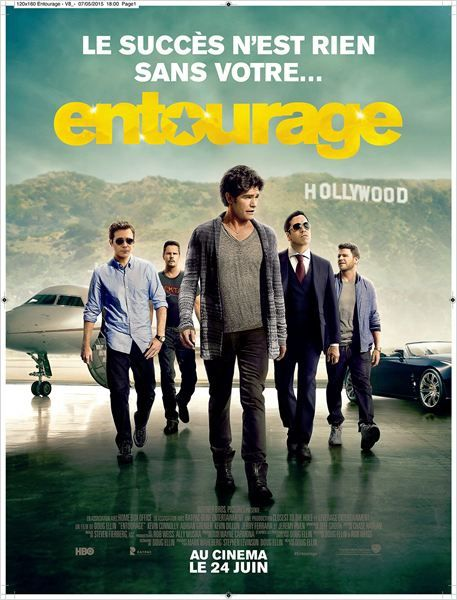 Entourage (3 interviews : Jeremy Piven, Doug Ellin, Kevin Connolly et Emmanuelle Chriqui - VOST) 24 06 2015