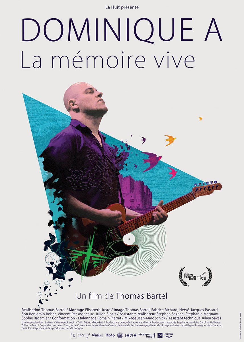 Dominique A, La mémoire vive (BANDE ANNONCE) de Thomas Bartel - 01 07 2015