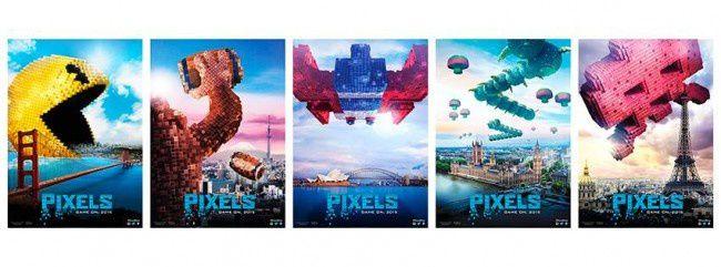 Pixels (Featurette : Les personnages des jeux d'arcade) Sortie le 22 juillet 2015 au cinéma