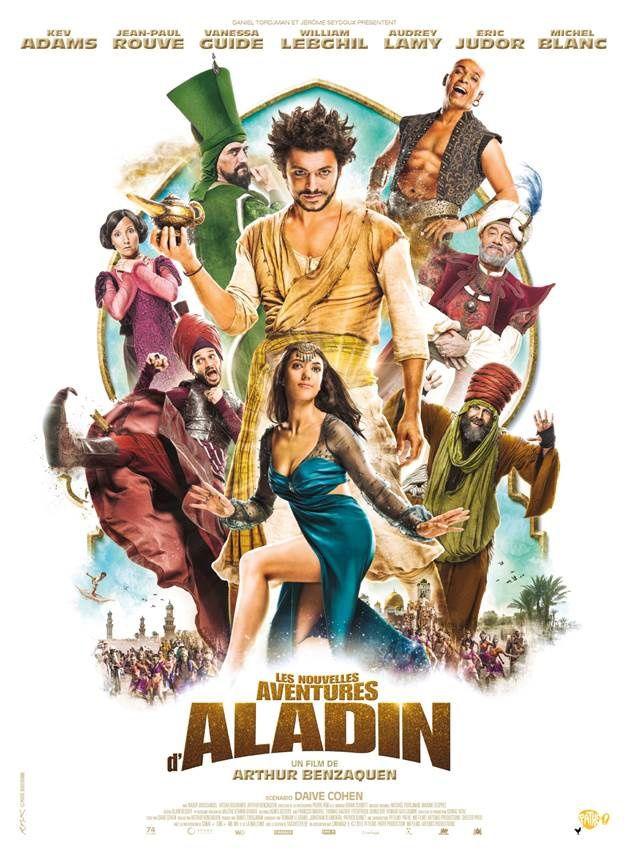 TEASER 2 pour LES NOUVELLES AVENTURES D'ALADIN  : Qui a dit que le Vizir Jean-Paul Rouve n'avait pas d'humour ? Le 14 octobre 2015 au cinéma !