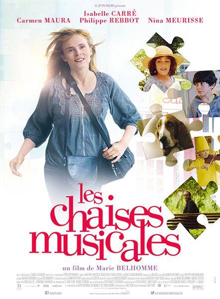 Les chaises musicales (BANDE ANNONCE) avec Isabelle Carré, Philippe Rebbot, Carmen Maura - 29 07 2015