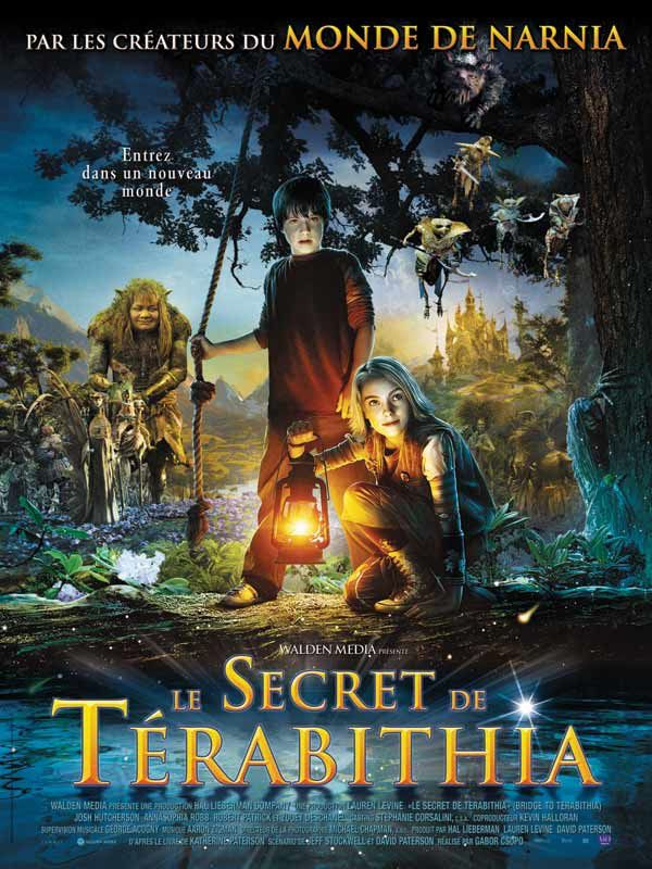LE SECRET DE TERABITHIA (BANDE ANNONCE VF 2007) avec Josh HUTCHERSON (Bridge to Terabithia)