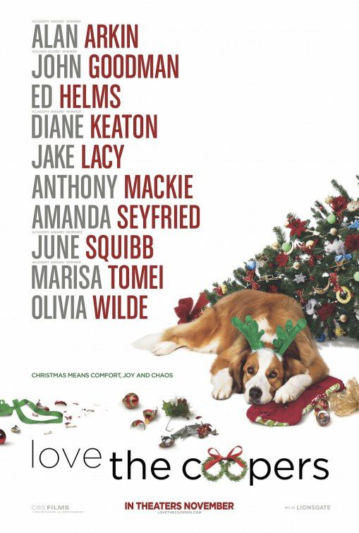 CHRISTMAS WITH THE COOPERS (Love the Coopers) (BANDE ANNONCE VO 2015) avec Olivia Wilde, Amanda Seyfried, Marisa Tomei