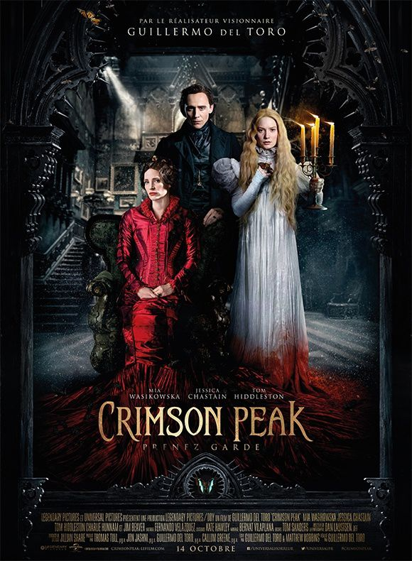 Crimson Peak (3 EXTRAITS) de Guillermo del Toro avec Charlie Hunnam, Tom Hiddleston, Jessica Chastain - 14 10 2015