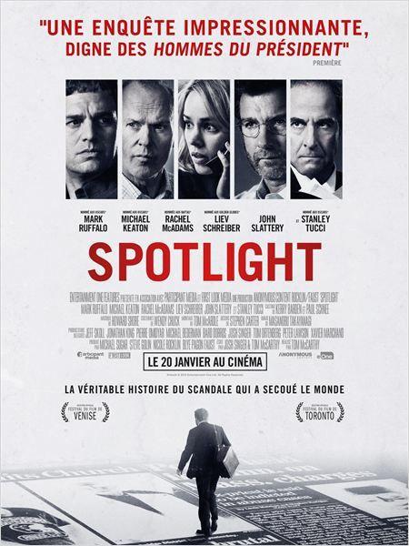 Spotlight (BANDE ANNONCE VF et VOST) avec Michael Keaton, Mark Ruffalo, Rachel McAdams - 27 01 2016