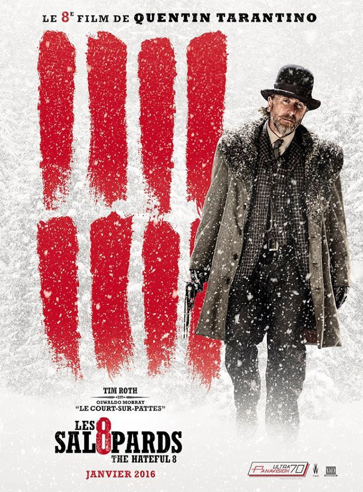 LES 8 SALOPARDS (BANDE ANNONCE VF et VOST) de Quentin Tarantino avec Samuel L. Jackson, Kurt Russell, Jennifer Jason Leigh - 06 01 2016 (THE HATEFUL EIGHT)