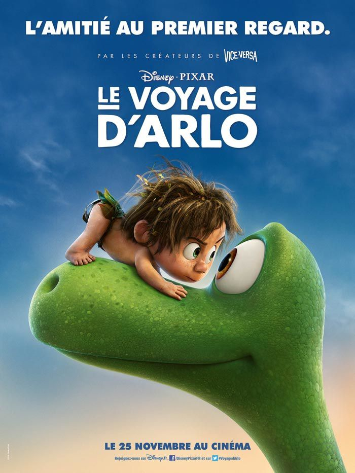 Le Voyage d'Arlo (BANDE ANNONCE VF + 2 EXTRAITS 2015) de Bob Peterson et Peter Sohn (Studio Pixar) (The Good Dinosaur)