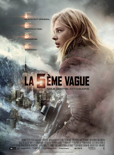 La 5ème Vague (BANDE ANNONCE VF et VOST) avec Chloë Grace Moretz, Nick Robinson, Alex Roe (The 5th Wave)