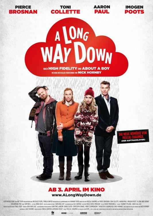 Up &amp&#x3B; down (A Long Way Down) (BANDE ANNONCE VOST 2014) avec Pierce Brosnan, Toni Collette, Aaron Paul - en DVD le 18 janvier 2016