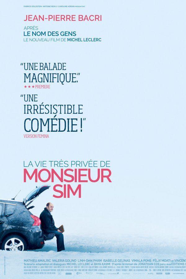 La vie très privée de Monsieur Sim (BANDE ANNONCE 2015) avec Jean-Pierre Bacri, Mathieu Amalric, Valeria Golino