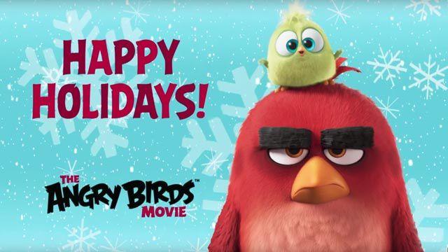 Angry Birds - Noël