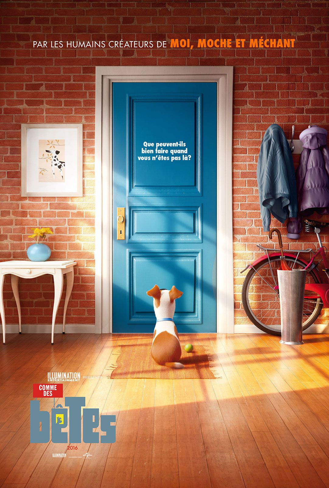 Comme des bêtes (BANDE ANNONCE VF et VOST) de Yarrow Cheney, Chris Renaud - 27 07 2016 (The Secret Life of Pets)