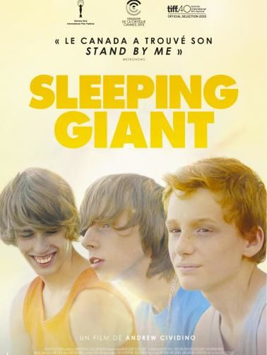 Sleeping Giant (BANDE ANNONCE VOST) de Andrew Cividino - 17 02 2016