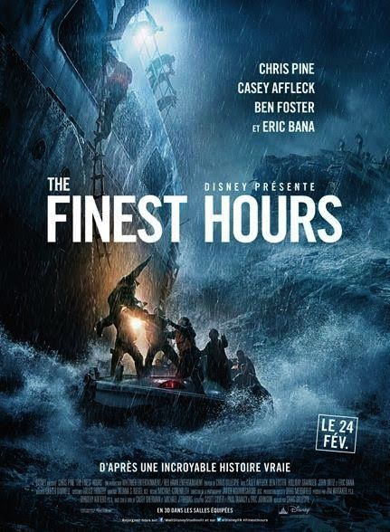 The Finest Hours (3 EXTRAITS) avec Abraham Benrubi, Chris Pine, Casey Affleck - 24 02 2016