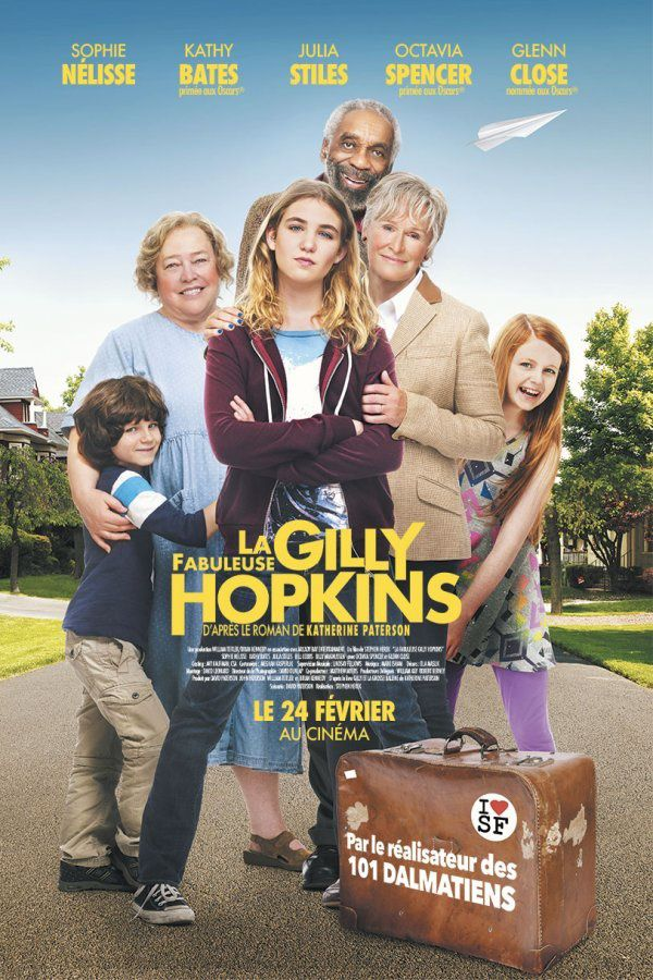 La Fabuleuse Gilly Hopkins (BANDE ANNONCE VF et VOST + 3 EXTRAITS 2016) avec Sophie Nélisse, Kathy Bates, Glenn Close (The Great Gilly Hopkins)