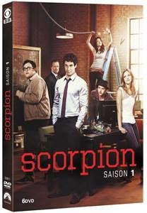 SCORPION (première saison) en DVD le 2 Mars 2016