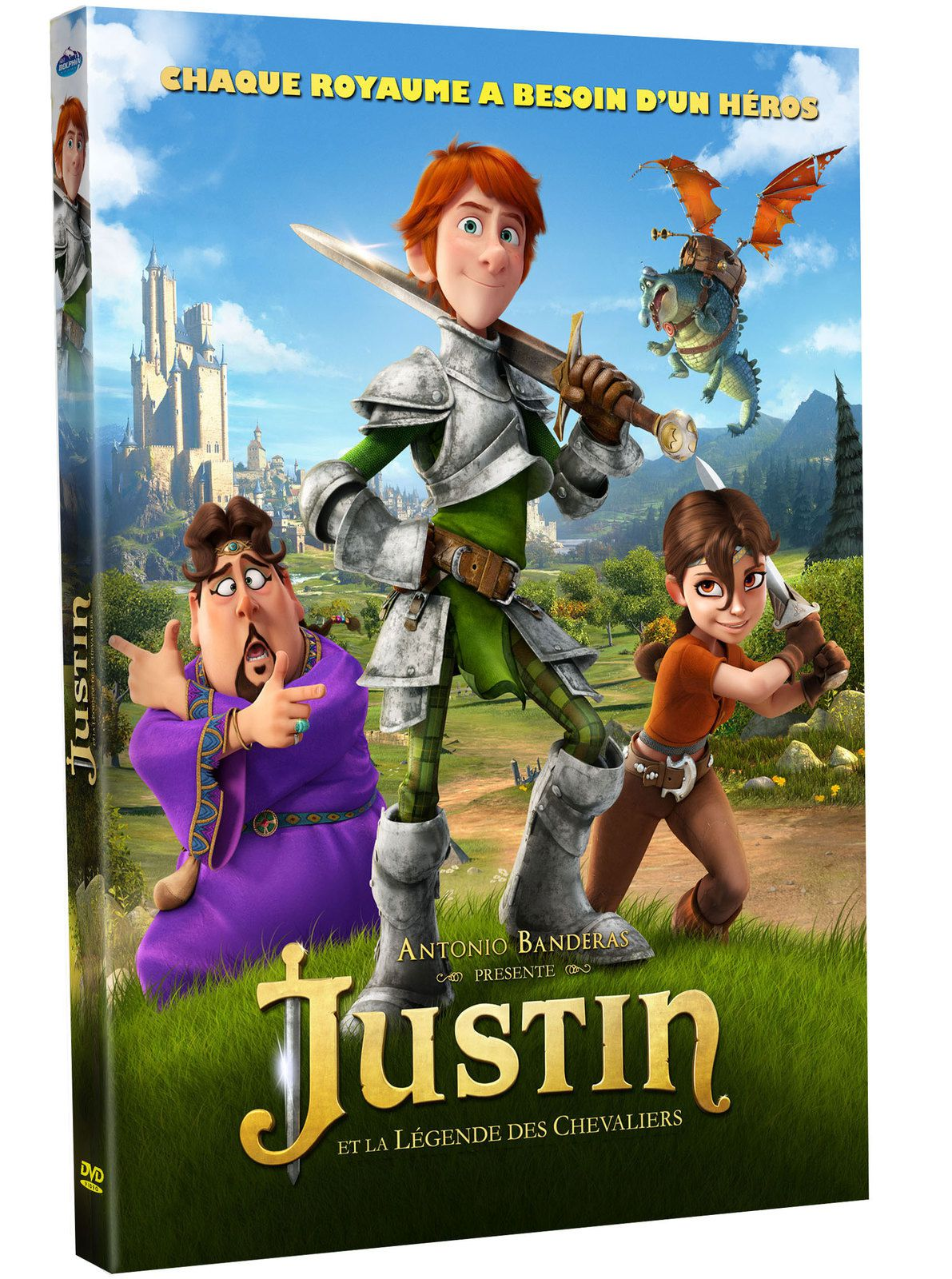 Justin et la Légende des chevaliers (BANDE ANNONCE VF) en DVD le 5 avril 2016 (Justin and the Knights of Valour)