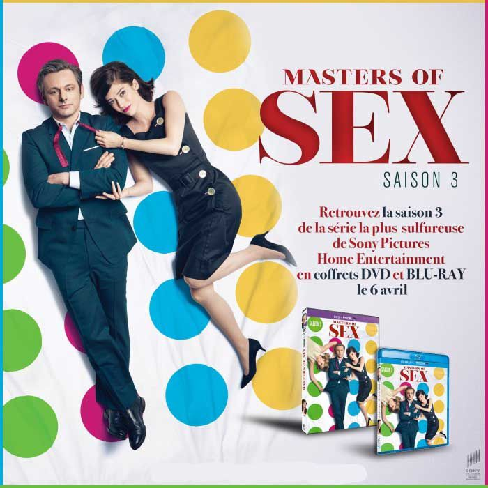 MASTER OF SEX (saison 3) Disponible en coffrets DVD et Blu-ray le 6 avril 2016