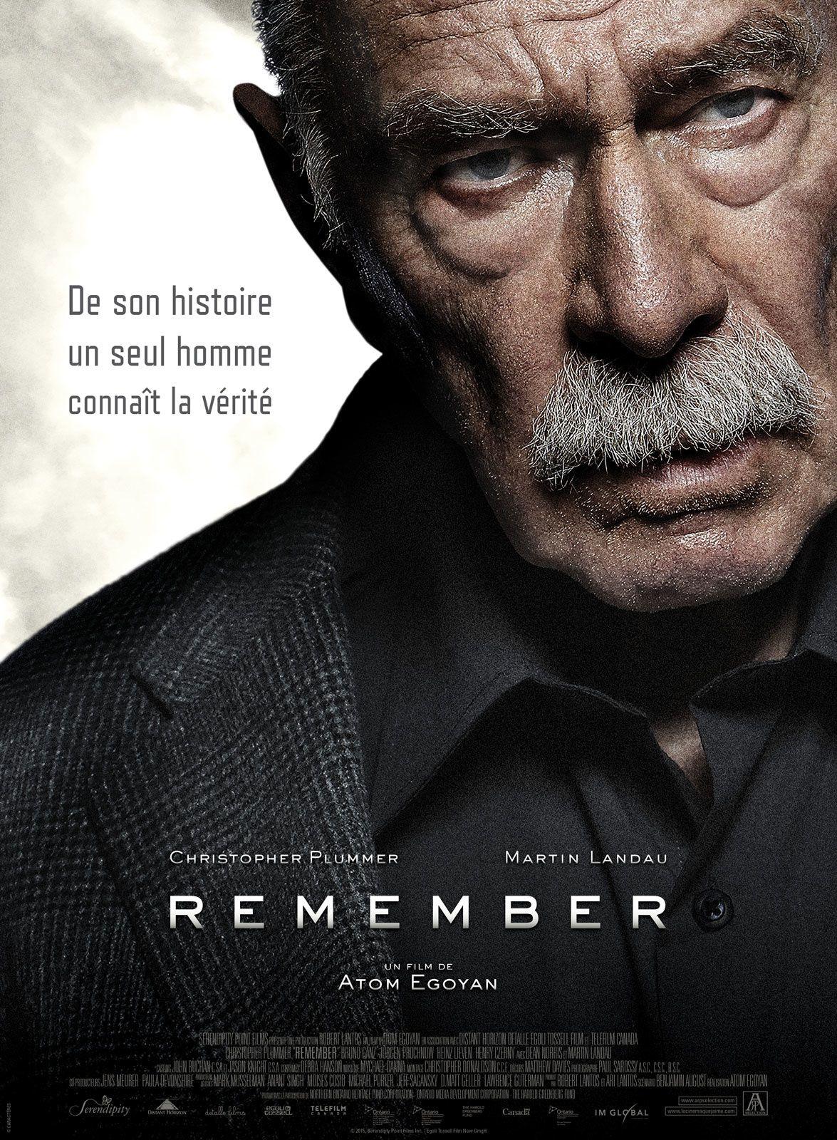 Remember (BANDE ANNONCE VOST) de Atom Egoyan avec Christopher Plummer, Martin Landau - 23 03 2016