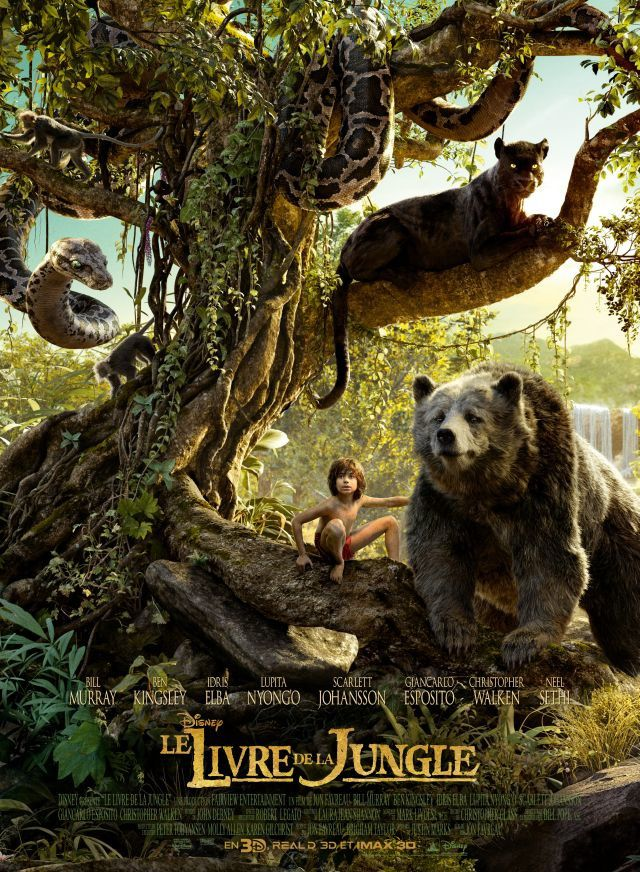 Le Livre de la Jungle (Extrait : Shere Khan) Le 13 avril 2016 au cinéma (The Jungle Book)