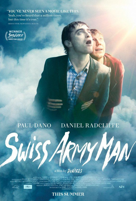 Swiss Army Man (BANDE ANNONCE VO 2016) avec Daniel Radcliffe, Paul Dano