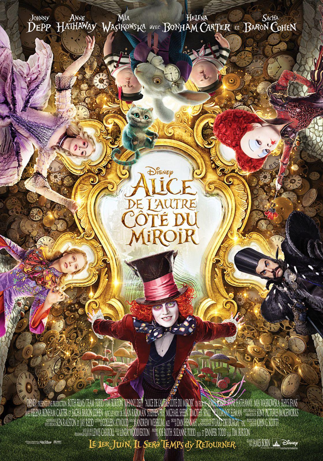 Alice de l'Autre Côté du Miroir (BANDE ANNONCE VF et VOST) avec Johnny Depp, Anne Hathaway, Mia Wasikowska - Au cinéma le 1er juin 2016 (Alice in Wonderland 2: Through the Looking Glass)
