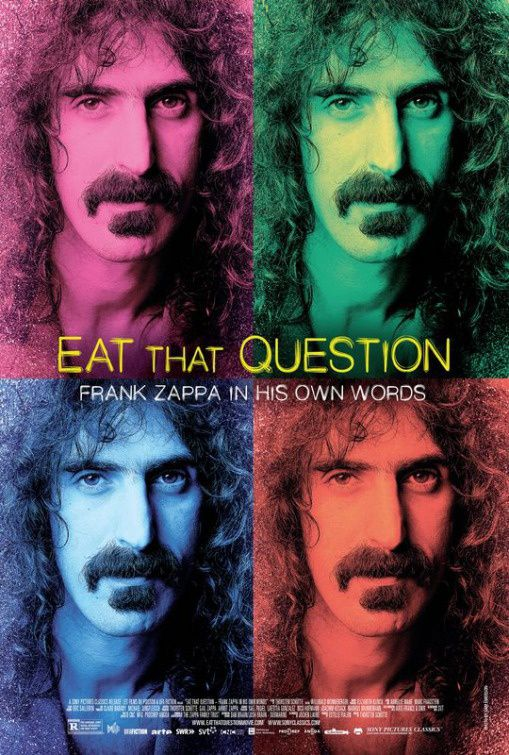Eat That Question : Frank Zappa in His Own Words (BANDE ANNONCE VO 2016) de Thorsten Schütte