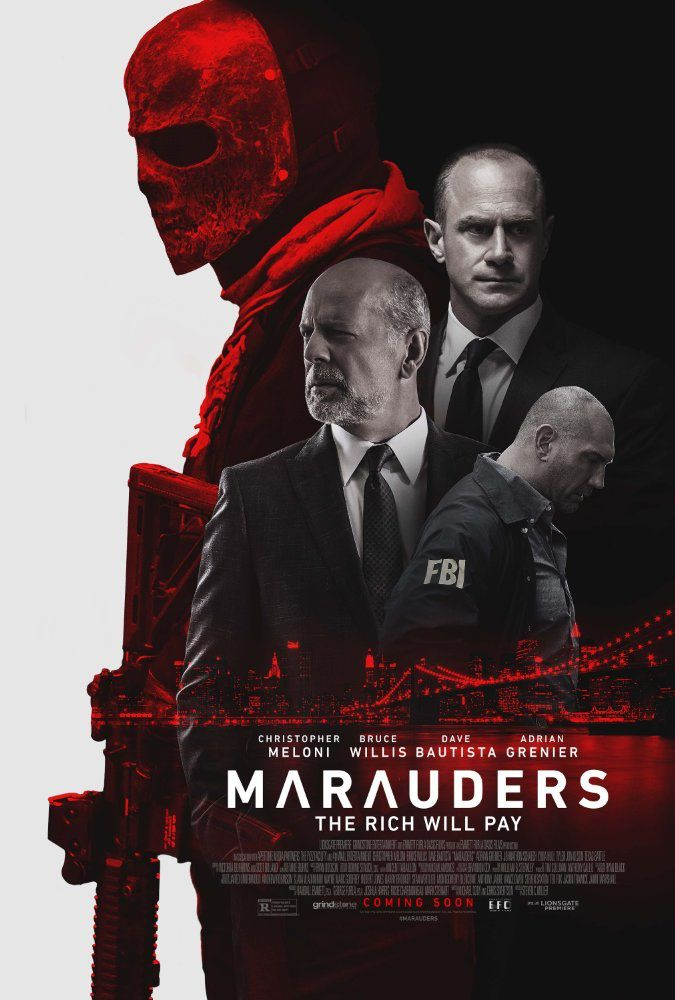 Marauders (BANDE ANNONCE VO 2016) avec Bruce Willis, Christopher Meloni, Dave Bautista