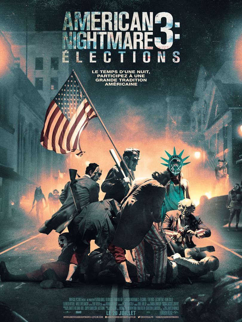 American Nightmare 3 : Elections (BANDE ANNONCE VF et VOST) Au cinéma le 20 juillet 2016 (The Purge: Election Year)