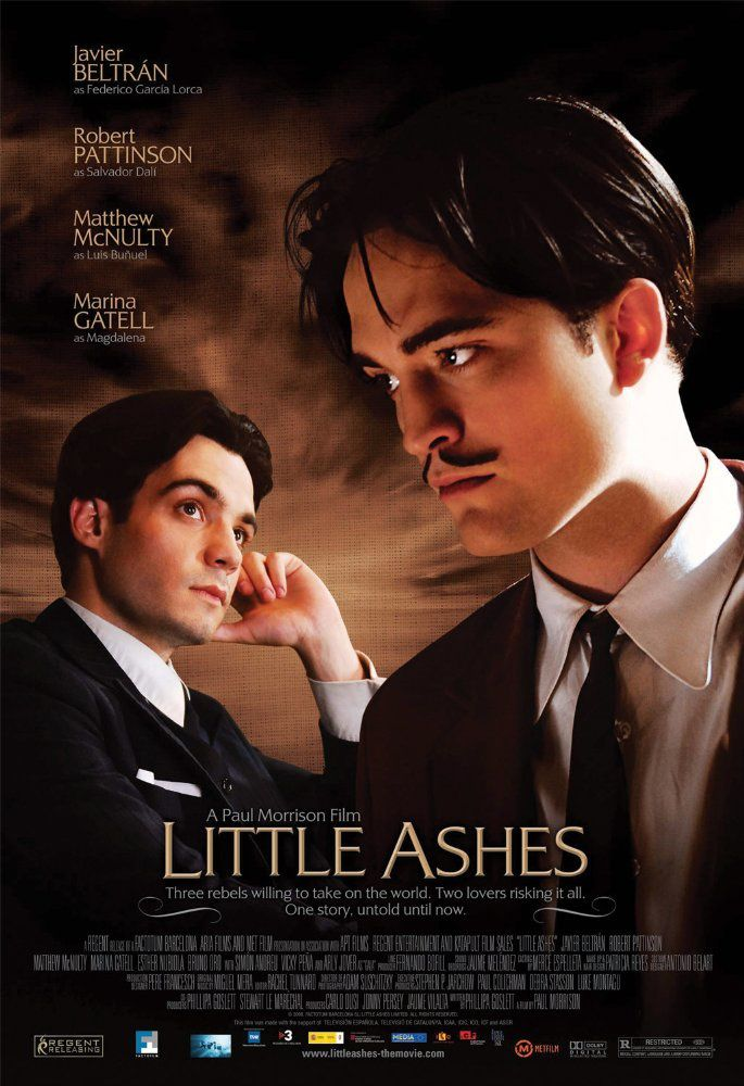 Robert Pattinson, Little Ashes (BANDE ANNONCE VO 2008)