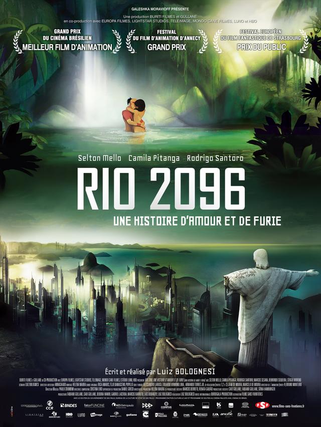 Rio 2096, Une histoire d'amour et de furie (BANDE ANNONCE VOST) de Luiz Bolognesi - Le 27 juillet 2016 au cinéma
