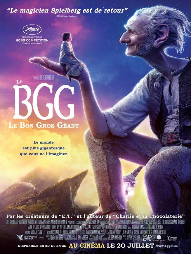Un Bon Gros Jeu ou un Bon Gros Coloriage ? // Le BGG : Le Bon Gros Géant, au cinéma ce mercredi !