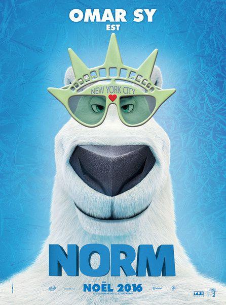 Norm (BANDE ANNONCE VF et VO) avec les voix françaises de Omar Sy, Med Hondo, Lucien Jean-Baptiste - 21 12 2016 (Norm of the North)