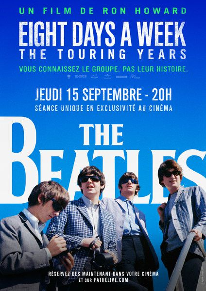 The Beatles : Eight Days a Week - The Touring Years (bande-annonce) Film inédit de Ron Howard au cinéma le 15 septembre 2016